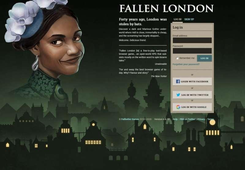 Best online games - Fallen London
