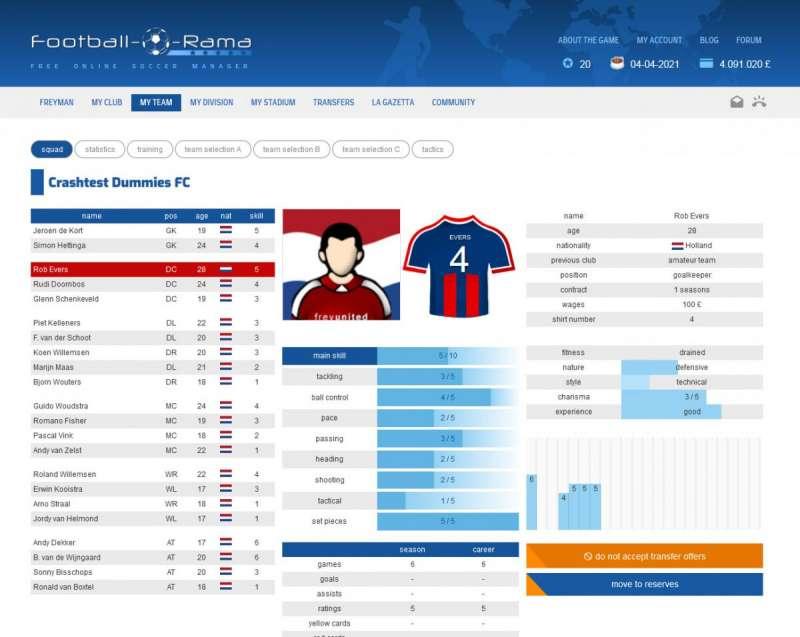 Best online games - Football-o-Rama