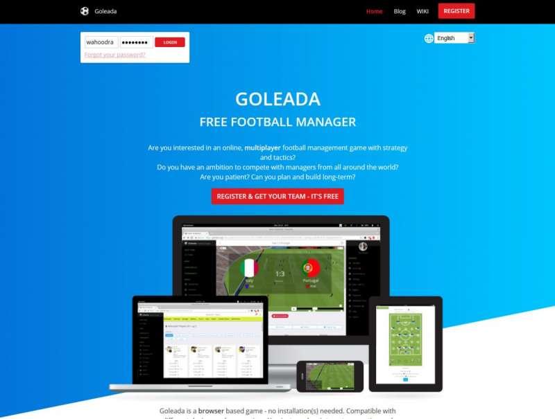 Best online games - Goleada
