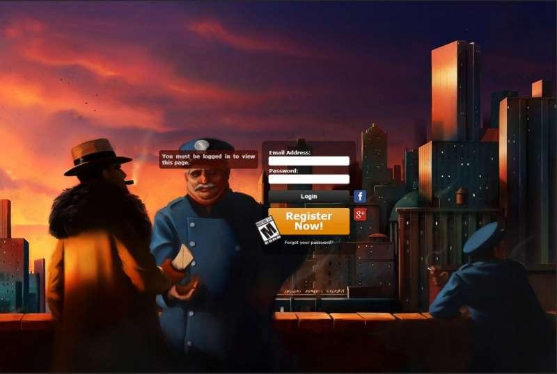 Mafia 1930 online game - Mafia Returns