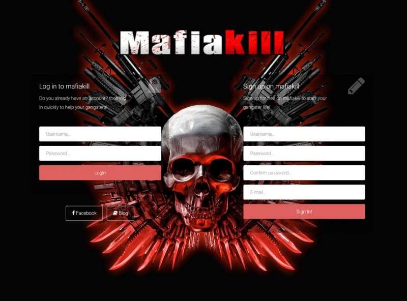 Mafia 1930 online game - Mafiakill