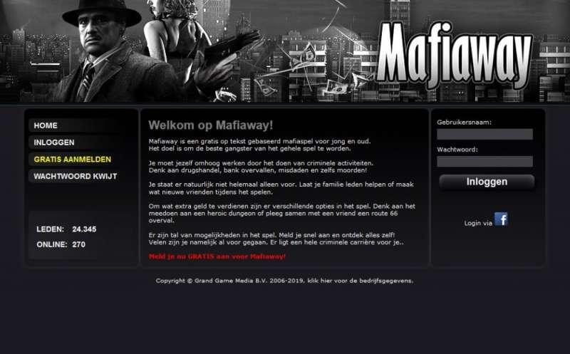 Mafia 1930 online game - Mafiaway