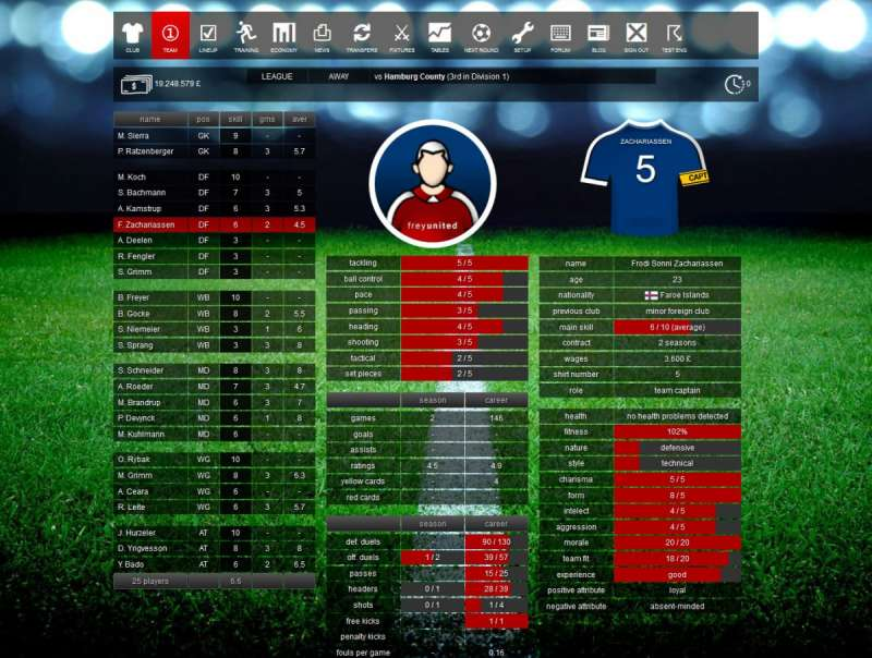 New online games - Santa Monica FC Online