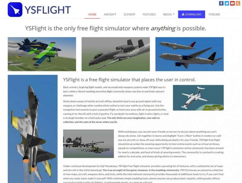 Best online games - YSFlight