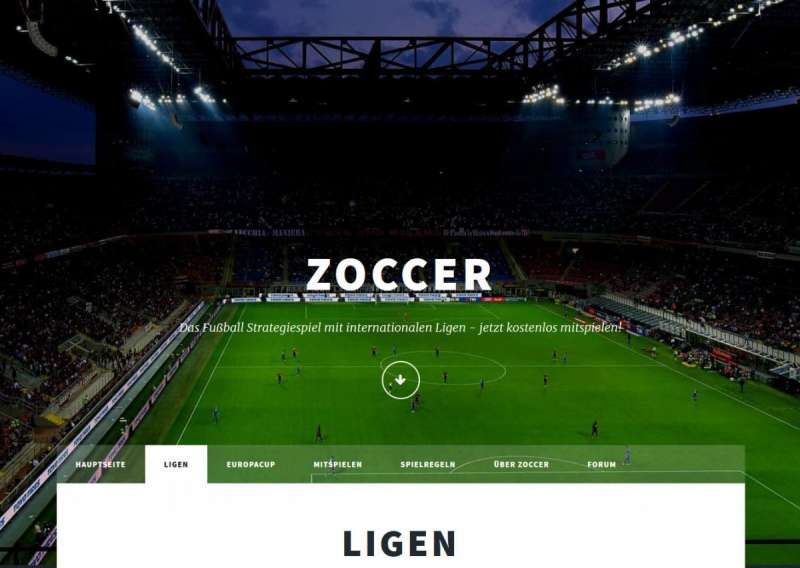 browser games - Zoccer