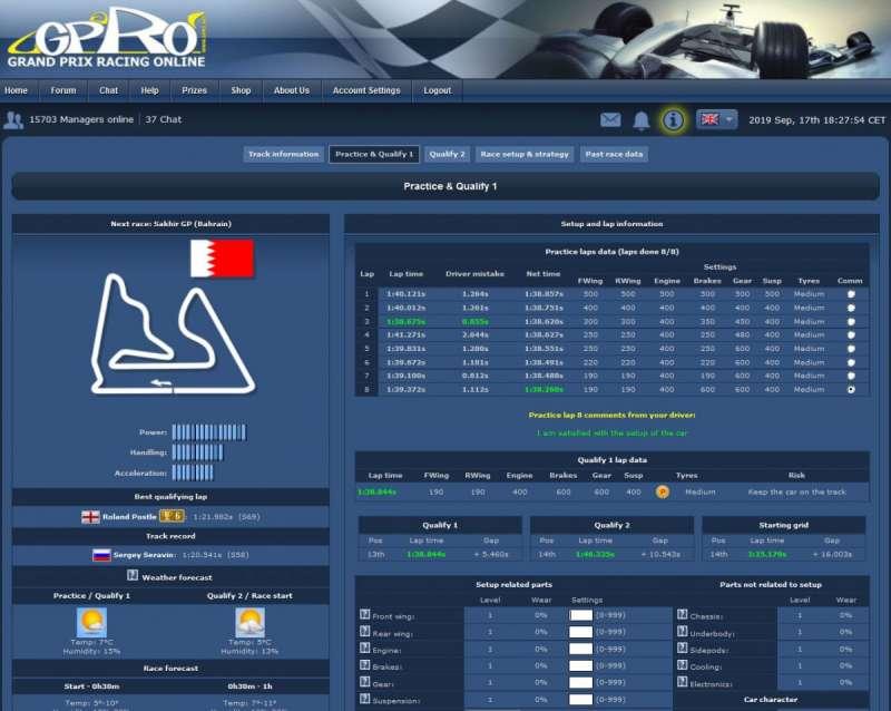 Grand Prix Racing Online  2005