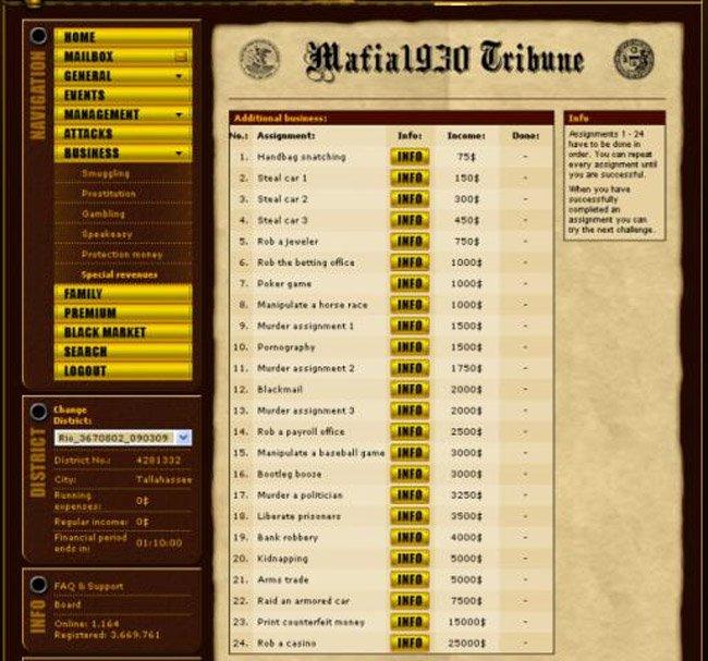 Mafia 1930  2007