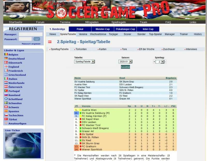 Soccer Game Pro  2003